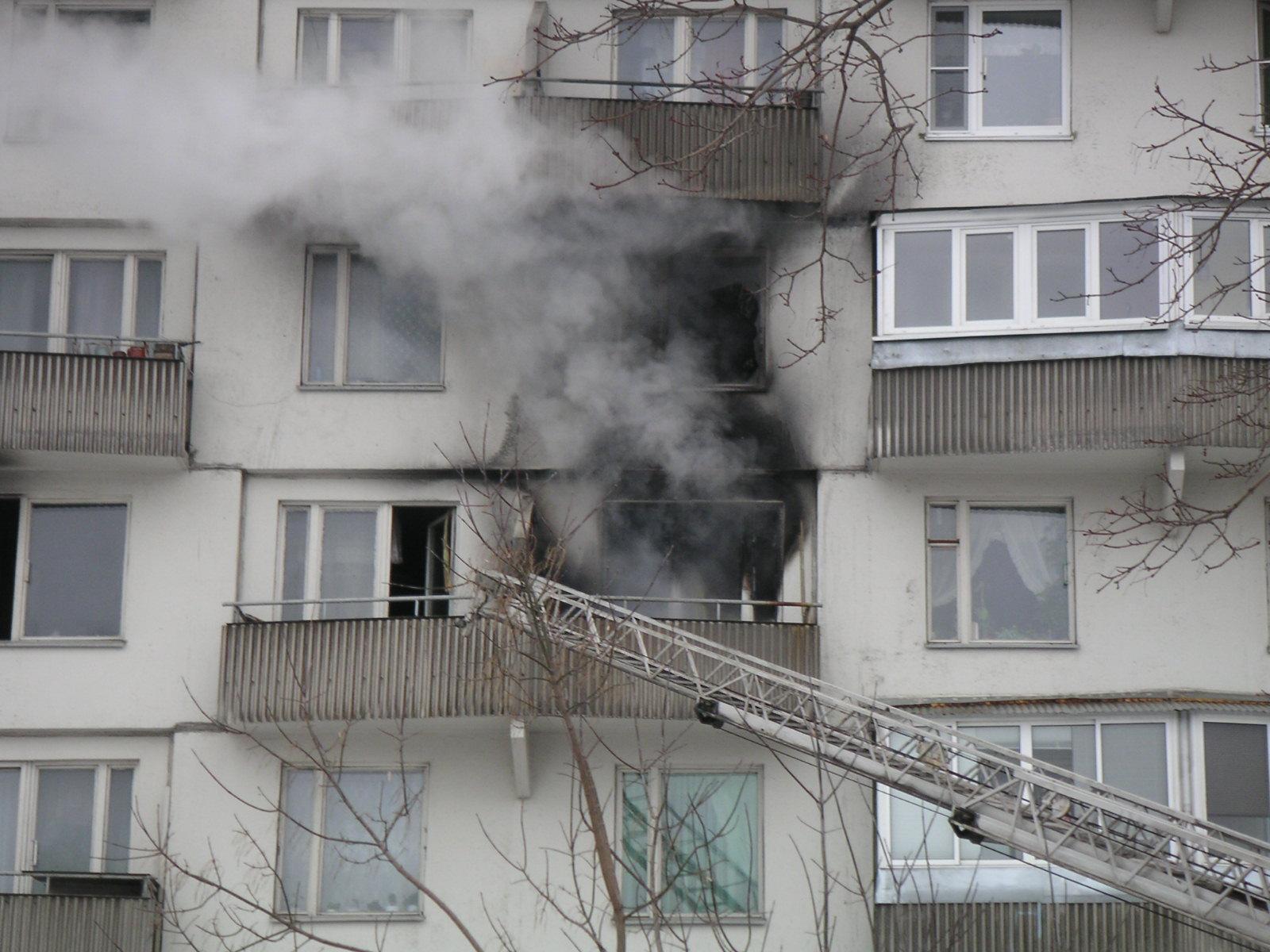 В Кривом Роге при пожаре пострадал житель дома